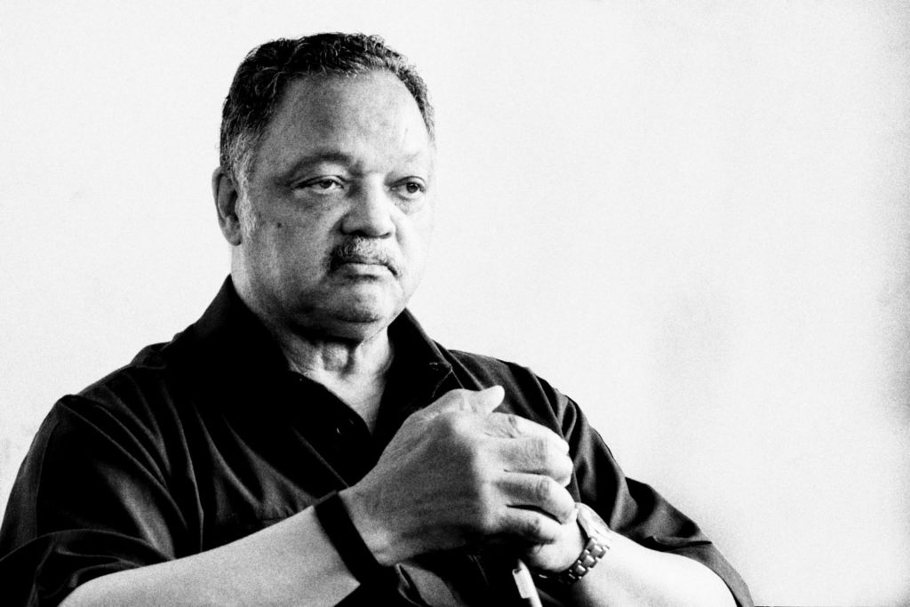 Rev Jesse Jackson at Cannes Lions by Stefan Jermann