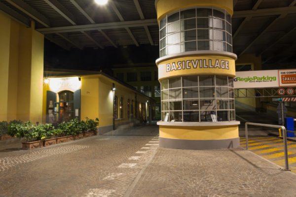 Basic Village, entrance by Corso Regio Parco