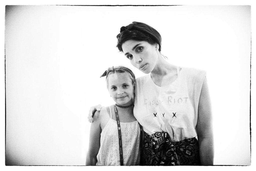 Nadeschda Andrejewna Tolokonnikowa photographed by Stefan Jermann